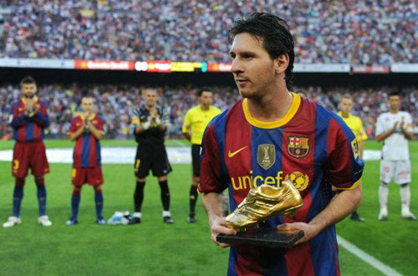 2011-2012. Messi