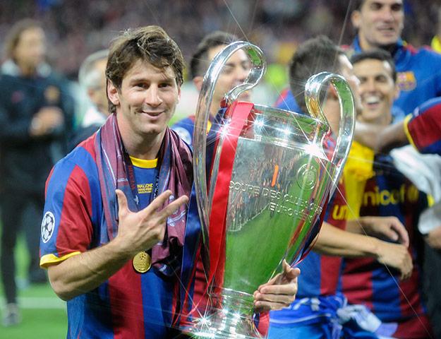 Mejor pasador de la Champions League