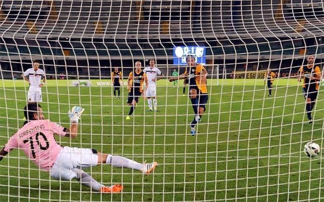Cuando el gol es polémico todo se resuelve con un penalti o gol