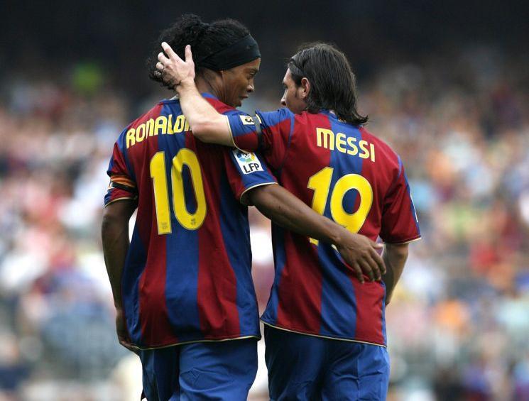 Conserva una buena relación con Messi y con Puyol