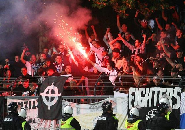 Ultra Bad Boys -  Estrella Roja de Belgrado