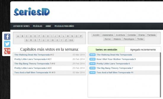 Seriesid.tv y Peliculasid.tv