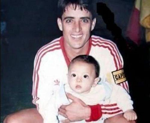 Hijo de futbolista