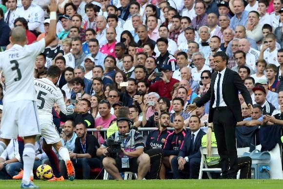 El primer clásico contra el Real Madrid se saldó con derrota.