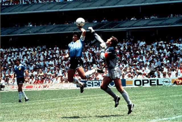 Sobre el gol a Inglaterra en 1986.