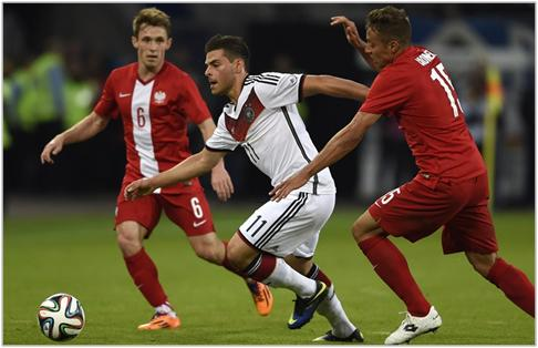 Alemania vs Polonia