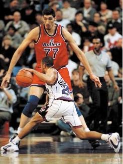 Los 10 jugadores más altos de la historia en la NBA