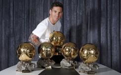 Los 10 jugadores que más veces han ganado un Balón de Oro