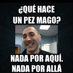 Los 5 mejores chistes de Benzema