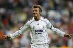 Los 6 mejores goles de la carrera de Beckham