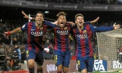 Los 7 mejores tridentes de la historia del Barcelona