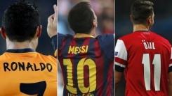 Los jugadores 10 de fútbol que más camisetas venden del mundo