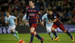 Quién hizo el penalti indirecto antes que Messi y Luis Suárez