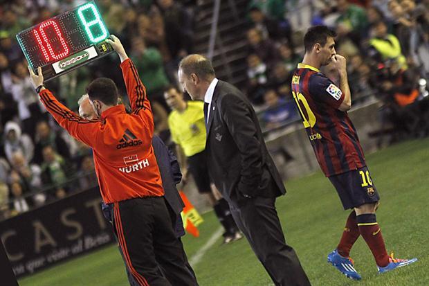 Aunque no nos guste, Messi también se hace mayor
