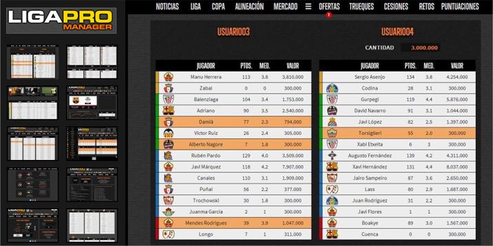 Liga Pro Manager
