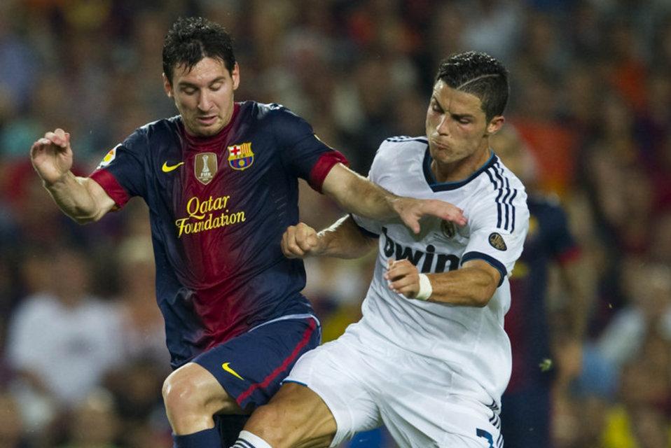 La competencia con Ronaldo.