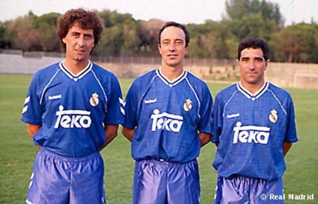 1993 - 1995 Real Madrid B
