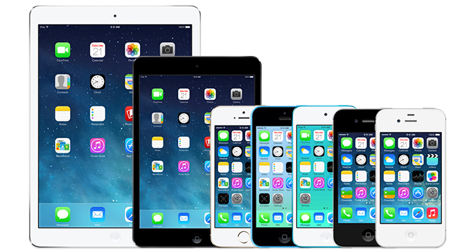 Iphones e ipads