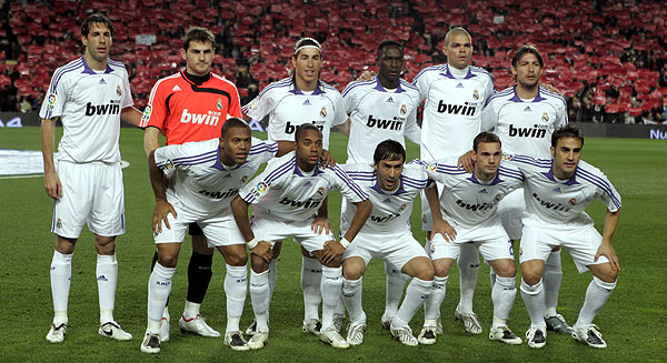 Temporada 2008 Real Madrid