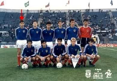 Jugó con Mijatovic en 1987.