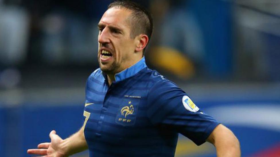 Franck Ribéry, Francia