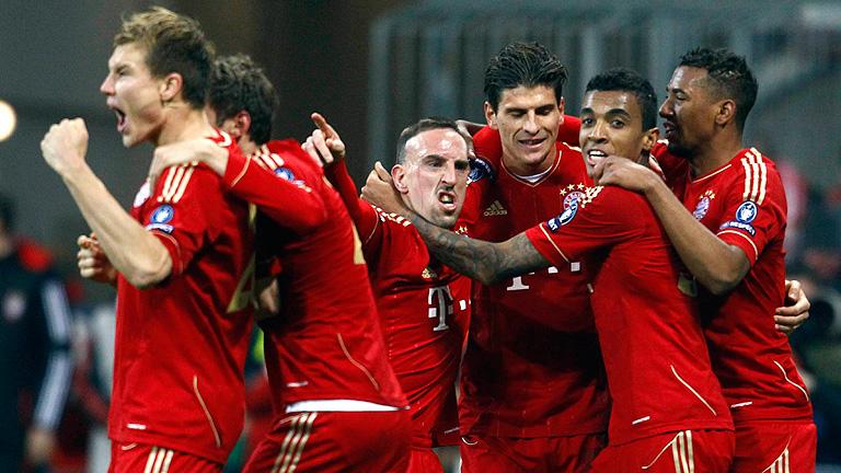 Bayern Munich 7 - 0 Basilea.