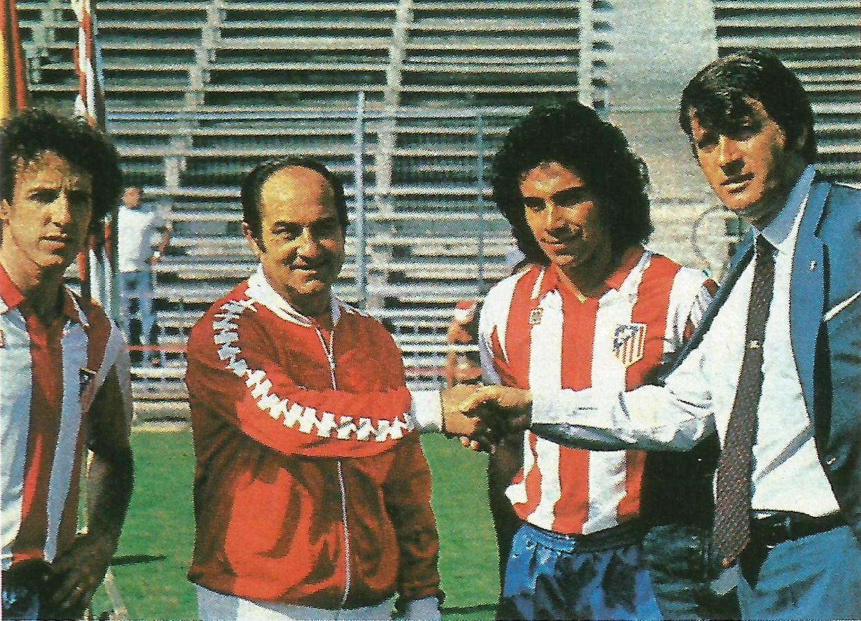 No sólo jugó en el Real Madrid en España.