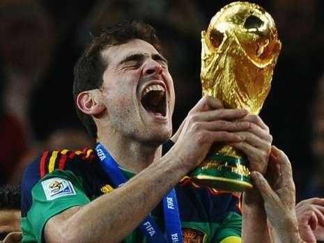 Es campeón del mundo con España