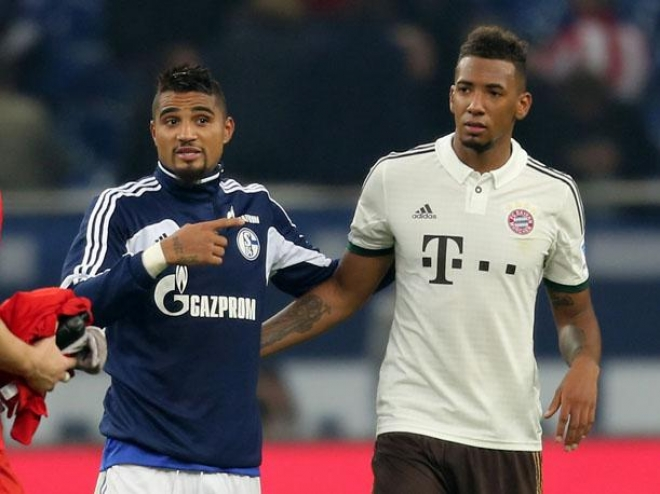 Kevin Prince  y Jerome Boateng