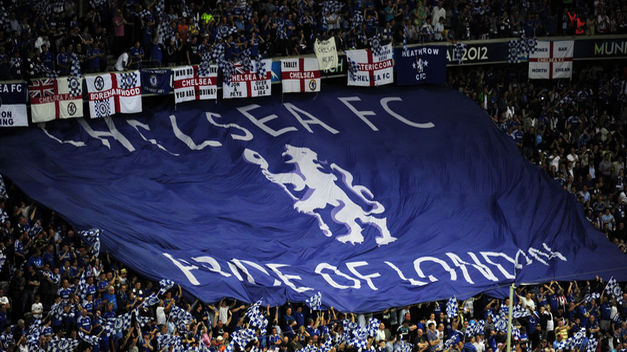 The fans of Chelsea, the most faithful
