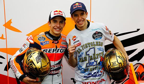 Son los únicos hermanos que han conseguido un Campeonato del Mundo de Motociclismo