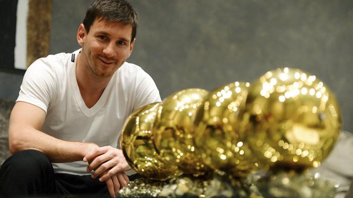 Los 10 futbolistas con más Balones de Oro de la historia