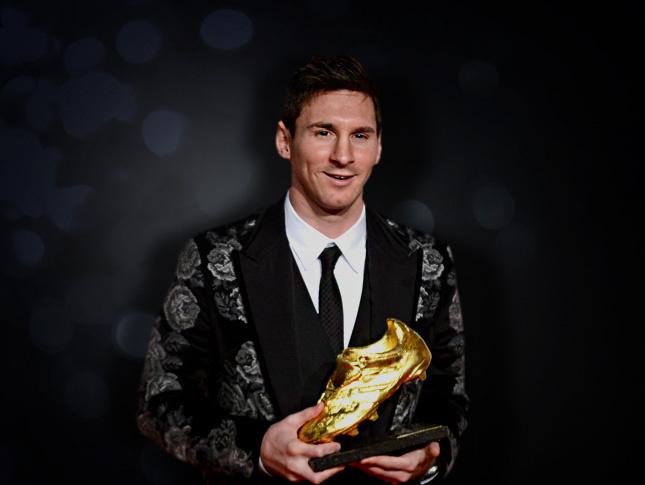 Los 10 jugadores con más botas de Oro