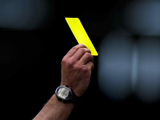 Los 10 jugadores que más cartulinas amarillas han visto en la historia de la Liga
