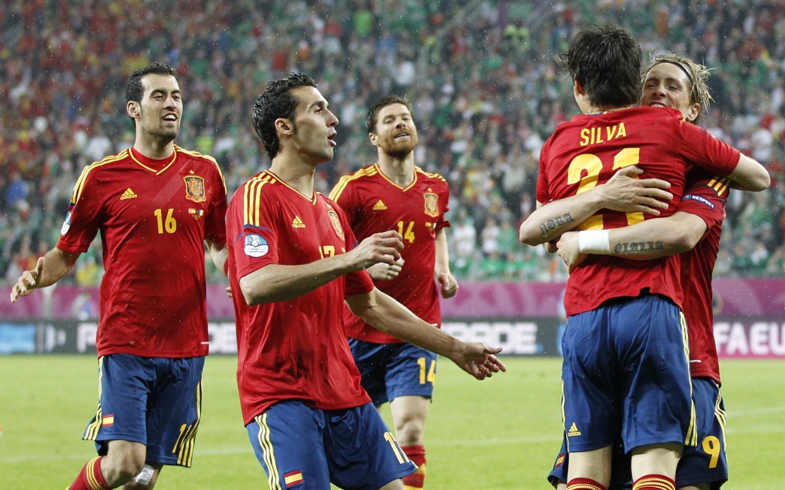 Los 10 jugadores que más han vestido la camiseta de España