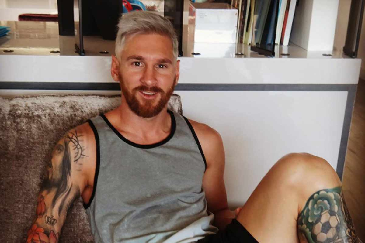 Los 5 looks de Leo Messi