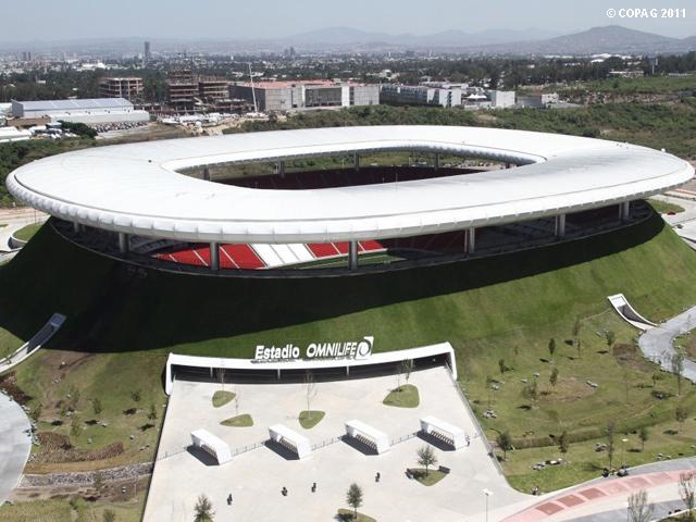 Los 5 mejores estadios de fútbol en México