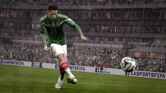Los 5 mejores jugadores mexicanos en el FIFA15