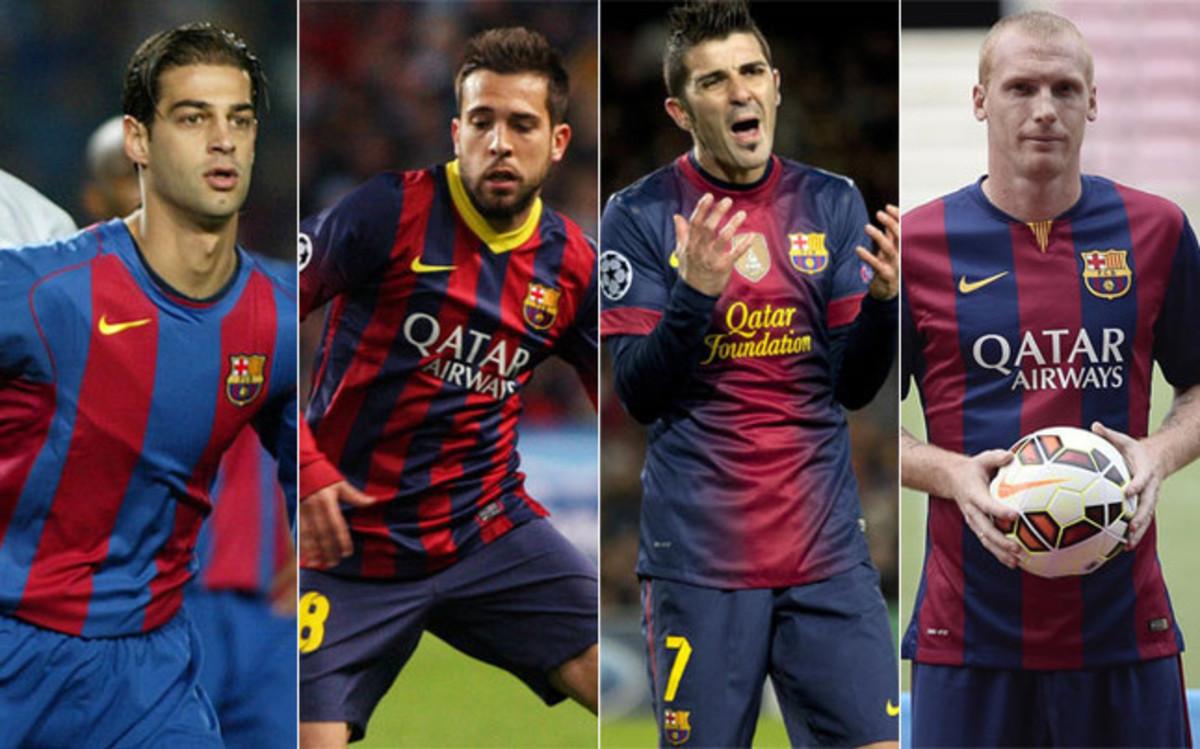 Los 5 últimos fichajes que ha hecho el Barcelona del Valencia