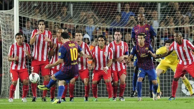 Los 6 mejores goles de Messi de falta directa