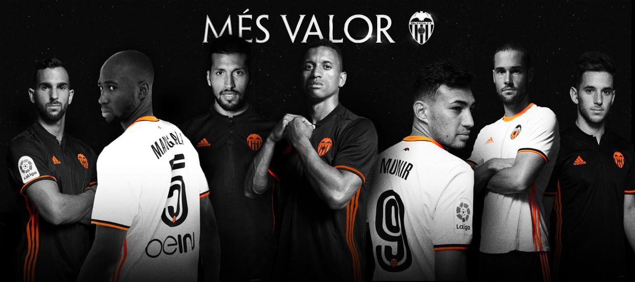 Los 7 fichajes del Valencia en la temporada 2016-2017